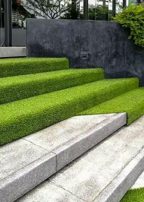 grass-steps